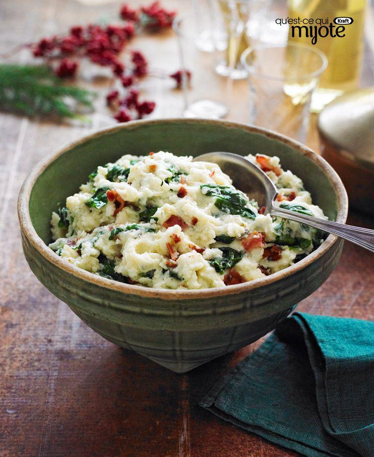 28 best diabtique et gourmand images on pinterest cooking food pure de pommes de terre au bacon et aux pinards recette forumfinder Image collections