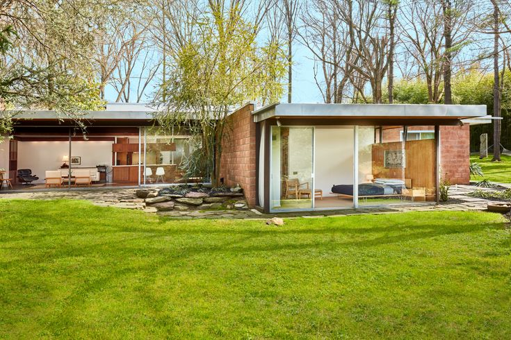 The iconic architect's midcentury modern home in Philadelphia's East Falls neighborhood faced demolition before being rescued and thoughtfully rehabbed—and is now once again up for grabs.