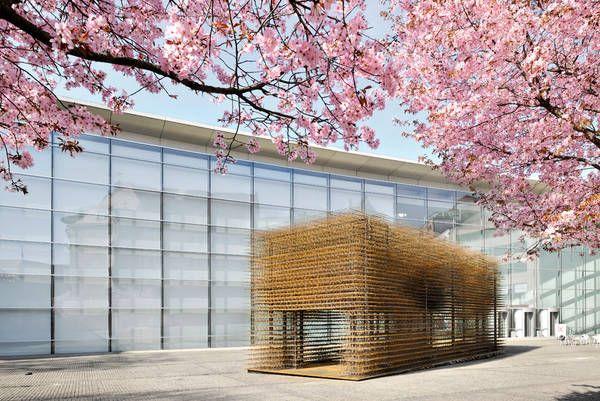 Installation »Unschärfe«, Architekten: Hochschule Biberach, Auftraggeber: ©Neues Museum Nürnberg, Ansicht