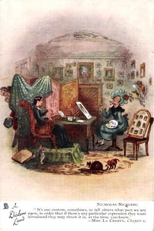 Charles Dickens, Nicholas Nickleby. To see our collection of postcards of…