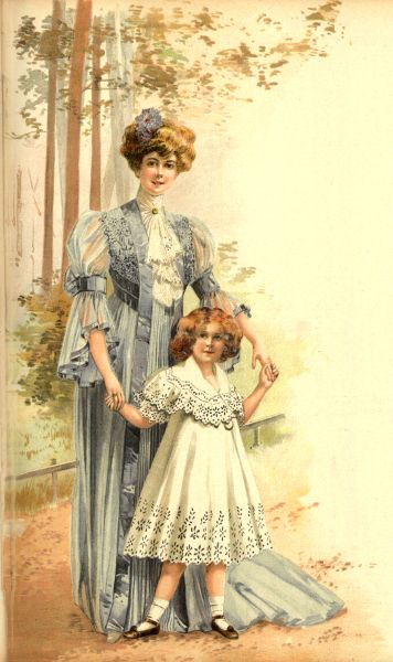 Stroje poranne, 1906   Morning clothes, 1906