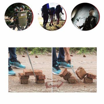 DANIU Portable Multifunctional Self Defense Stick Hammer Camping Hiking Survival Emergency Tools Sale - Banggood.com
