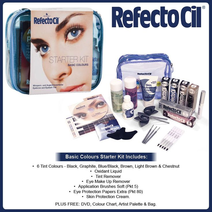 RefectoCil International has been proven and recognised as the leading brand in the field of professional eyelash and eyebrow tints.