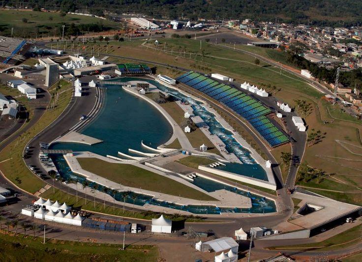 Estádio de Canoagem Slalom #Rio2016