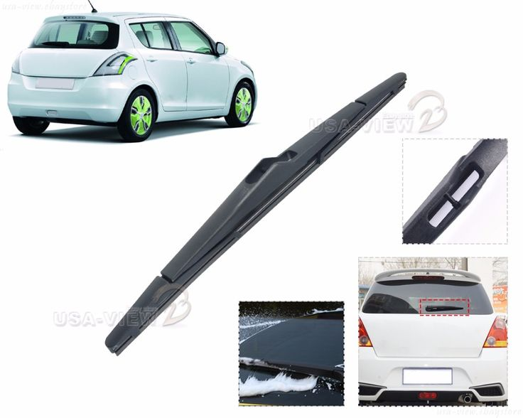 "New Black 12"" / 320mm Rear Rain Window Windshield Wiper Blade For Ford Fiesta 2008 2009 2010 2011 2012 2013 2014 Focus 2012 #Affiliate"