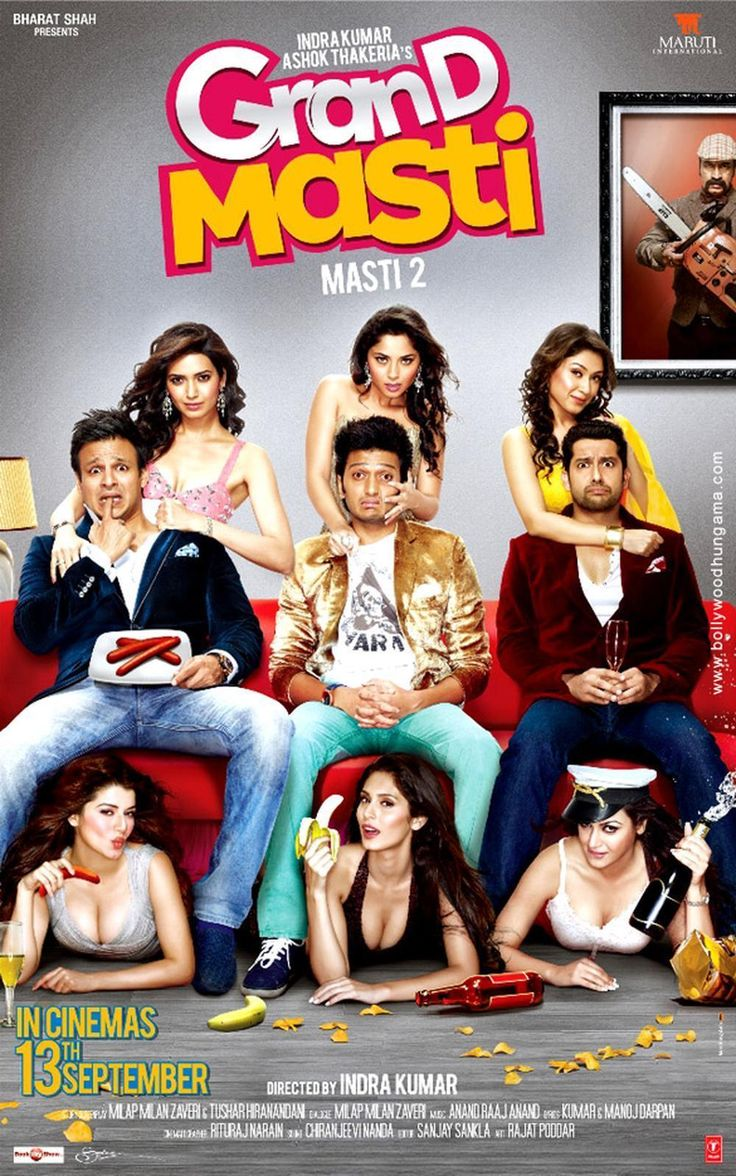 Grand Masti (2013) FULL MOVIE. Click image to watch this movie                                                                                                                                                     More