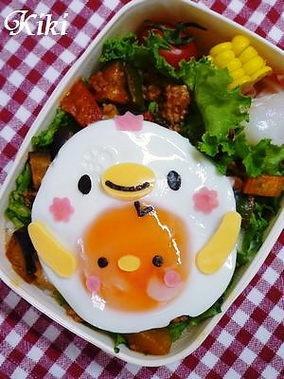 キャラ弁 #food #bento #kawaii