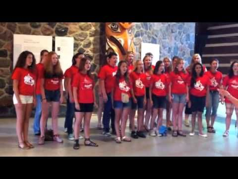 Ottawa Children's Choir - McMichael Canadian Art Collection July 4, 2012