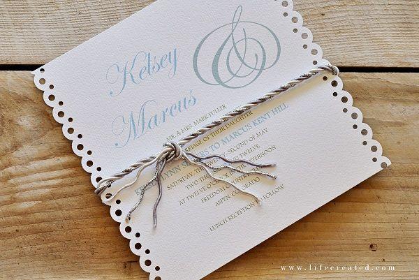 Craftaholics Anonymous® | 10 Tips for making DIY Wedding Invitations