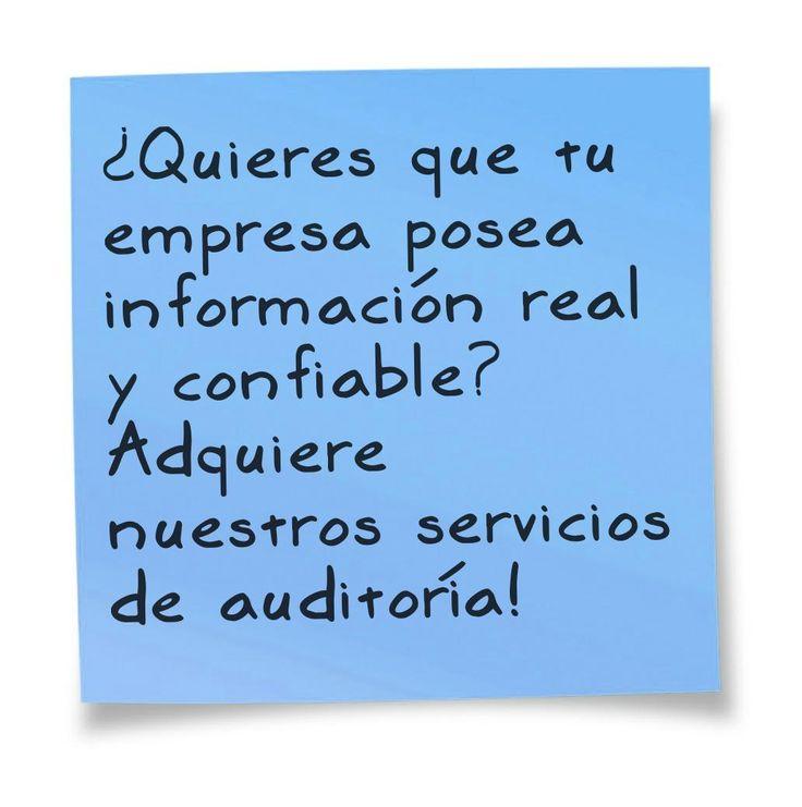 Información confiable!