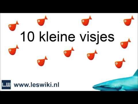 '10 kleine visjes' om op te zingen