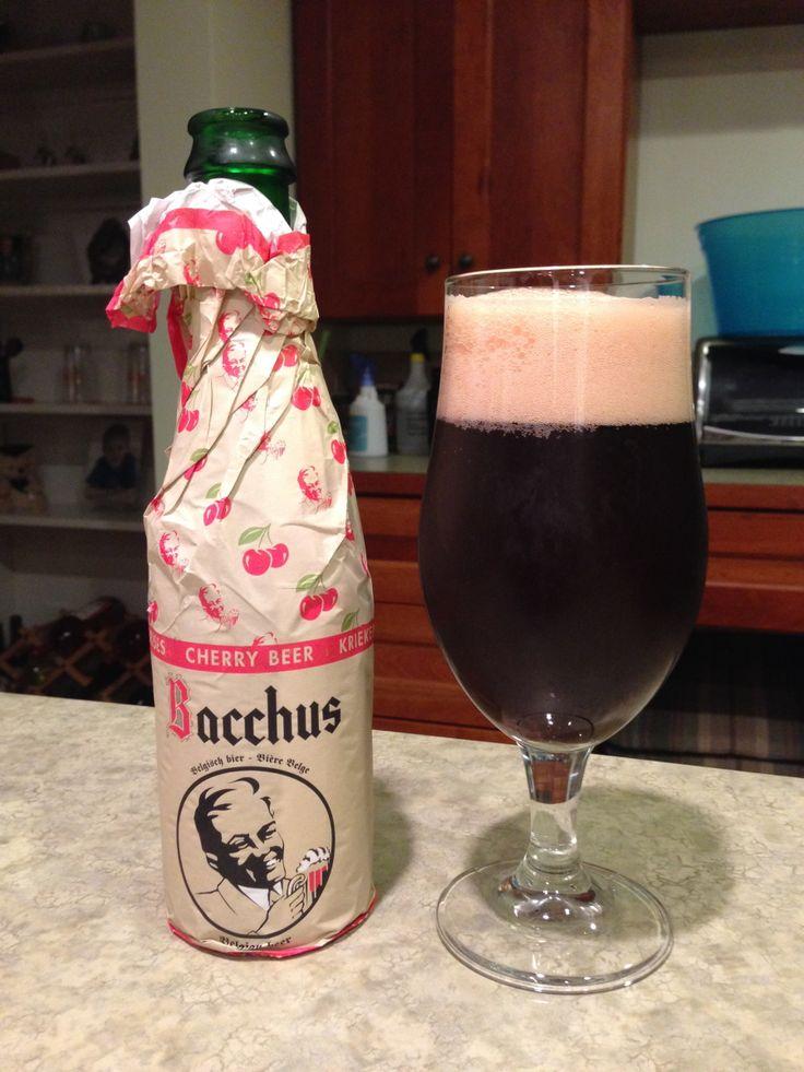 Bacchus Kriekenbier: Day 96: Bacchus Kriekenbier from Brouwerij Van Honsebrouck. Style of beer is 'Fruit Lambic'. ABV is 5.8%. Read more at http://www.beerinfinity.com/beer-of-the-day-bacchus-kriekenbier/.