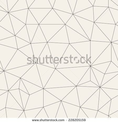Vector seamless pattern. Irregular abstract linear grid. Graphical hand drawn…
