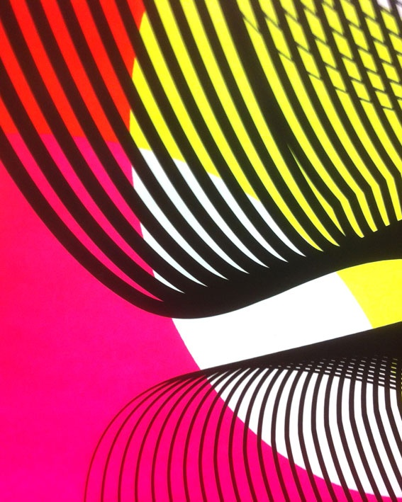 Color Geometric Art - Kate Banazi