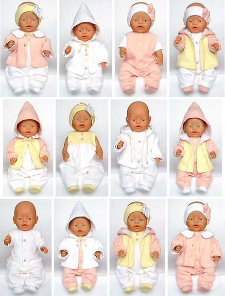 tons of bitty baby patterns