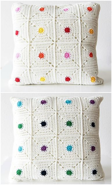 Hot Spot Pillow By Kirsten - Purchased Crochet Pattern - (ravelry)