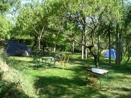 Eco-camping Cazorla, grote plekken, prachtig uitzicht.