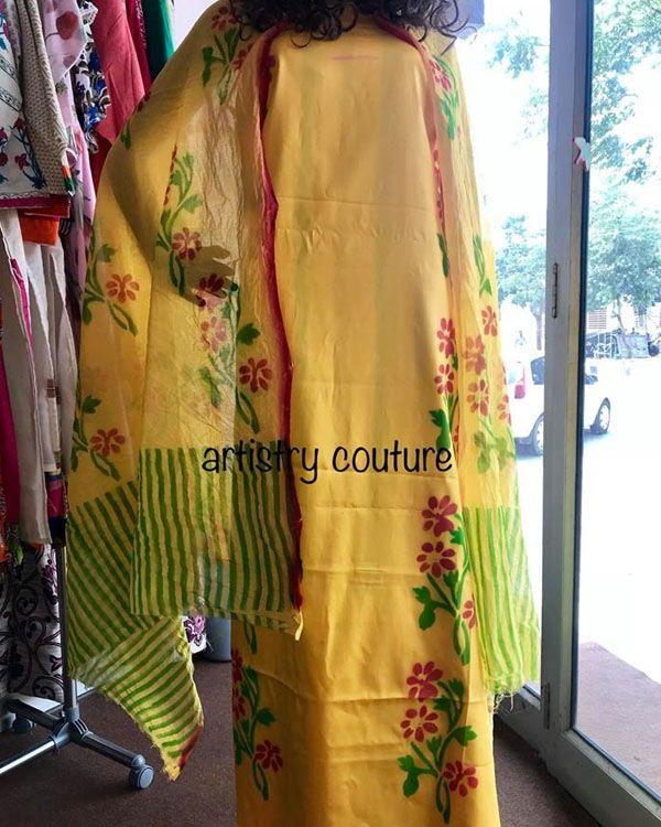 Artistry Couture Boutique Bathinda Boutique Couture Painted Clothes Designer Suits Online,Negative Space Design