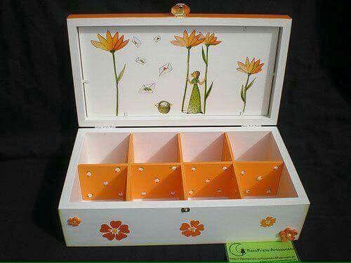 Caja compartimentos