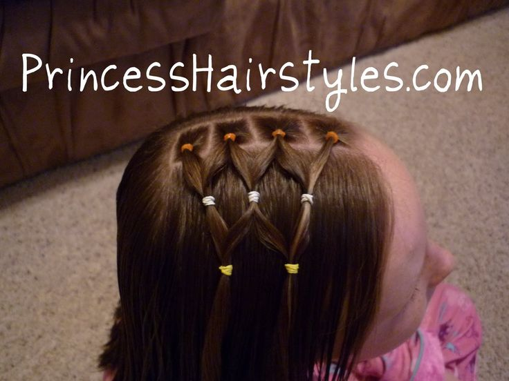Hairstyles For Girls - The Story Of A Princess And Her Hair