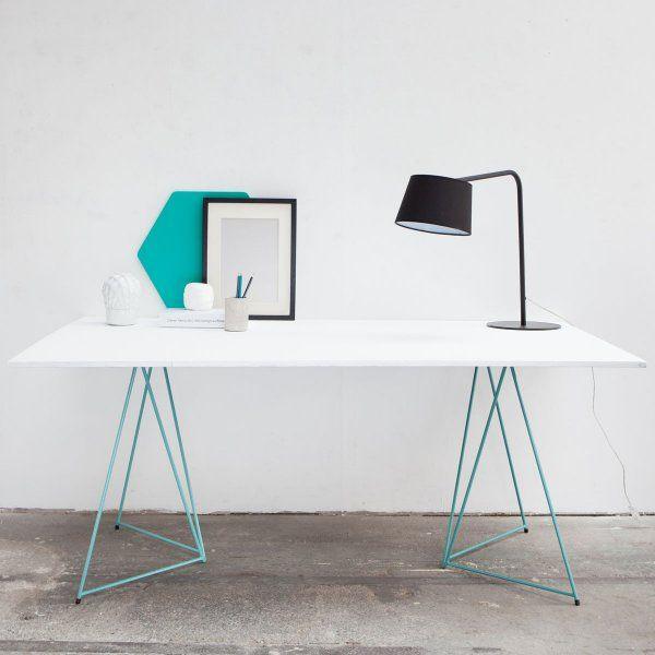 tisch aus holz und beton offenbart neue moglichkeiten fur. Black Bedroom Furniture Sets. Home Design Ideas