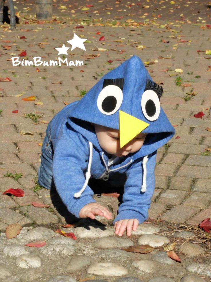 Uccellino – Costumi Carnevale Halloween bambini fai da te - Cerchi costumi di Carnevale per bambini fai da te? Ecco questo bellissimo e semplicissimo costume che ho realizzato per i miei bebè. Guarda come ho fatto... BimBumMam