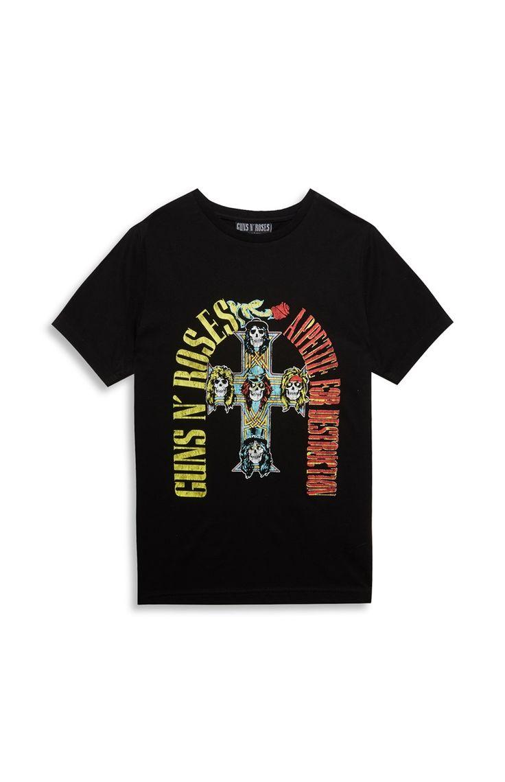 T-shirt Guns And Roses, jongens