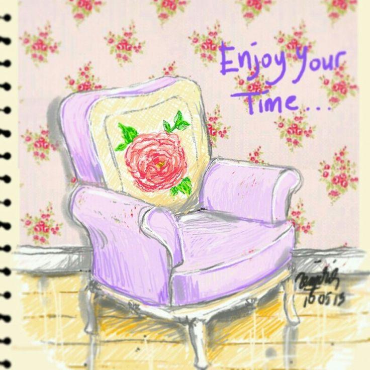 Enjoy my time