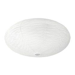 IKEA - SOLLEFTEÅ, Ceiling lamp, , The lamp gives a pleasant, evenly distributed general light, as it uses a GX53 light source.