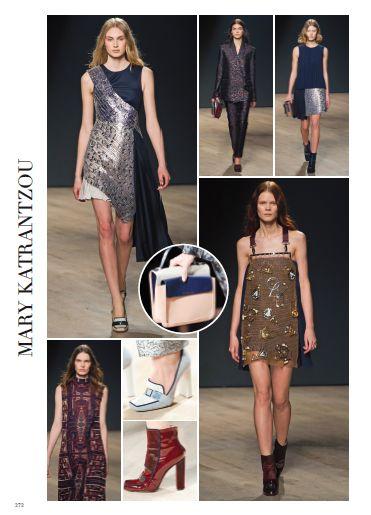 Mary Katrantzu, significance and symbolism. #marykatranzu #pretaporter #fashion #catwalk #style #look #fashionshow #london #fall #winter #2014 #2015