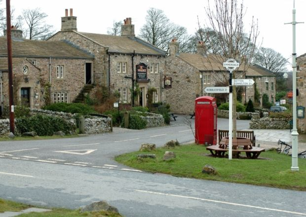 Emmerdale village on the Harewood estate. Picture: Jonathan Gawthorpe.