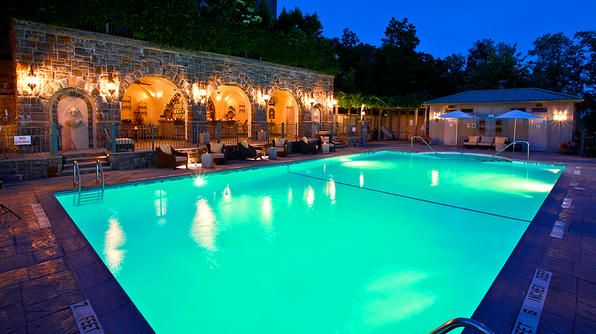 The Castle Hotel & SpaPoolside Pairings, Luxury Travel, Hotels Photos, Spas, Hotels Spa, New York, Luxury Castles, Castles Hotels, Poolside Grotto