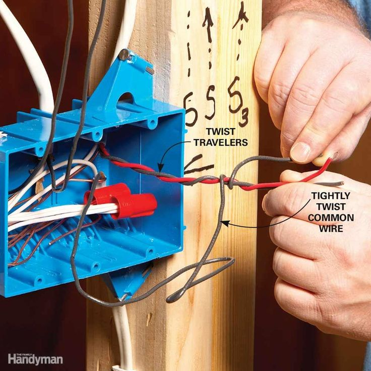 "Save yourself a lot of headaches by identifying the wires as you install them. It's a lot harder to figure out which wires go where when they're covered with drywall. Many electricians use a ""code"" for marking wires, and so can you. Here's one example. Wrap three-way switch ""travelers"" loosely and wrap the common wire tightly around them for easy identification later."