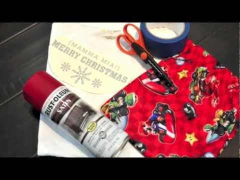 DIY Customized Christmas Pajamas