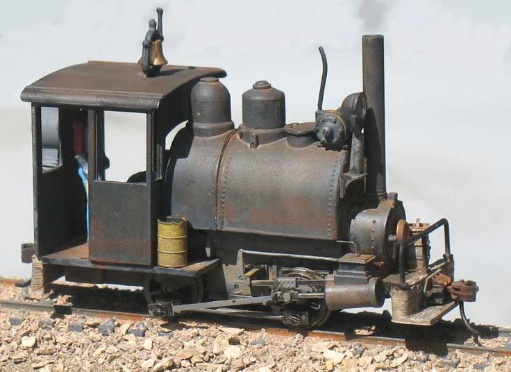 Railroad Line Forums - Earl Martin Inspired 0-4-0 Porter In On30
