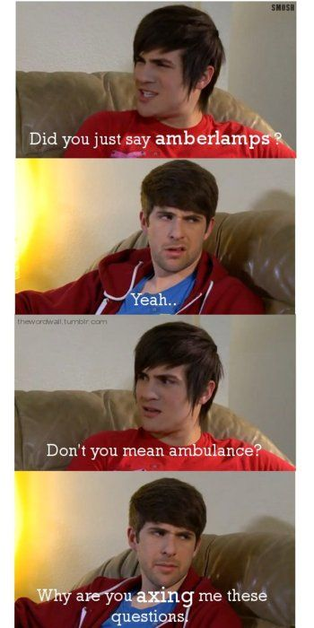 This is Smosh! WOOHOO! These guys are awesome! #anthonypadilla #ianhecox #smosh