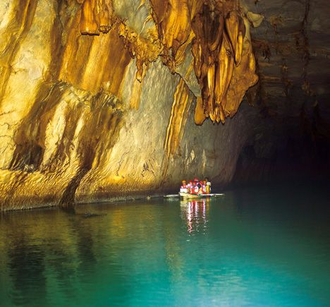 """Puerto Princesa underground river in Philippines, one of the """"New Wonders of the World"""". On my list of places I must marvel at in person"""