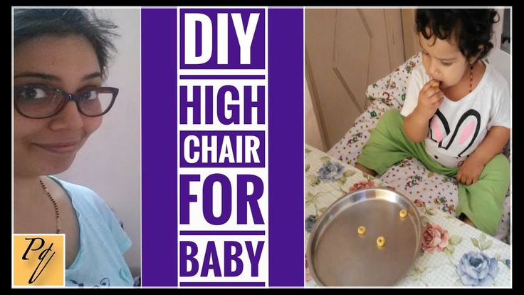 Make your own high chair | DIY baby high chair
