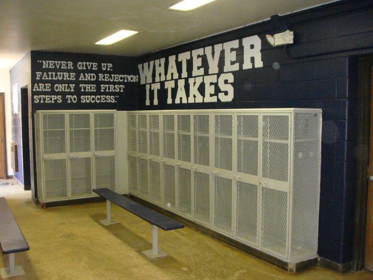 football locker room decorations - Google Search