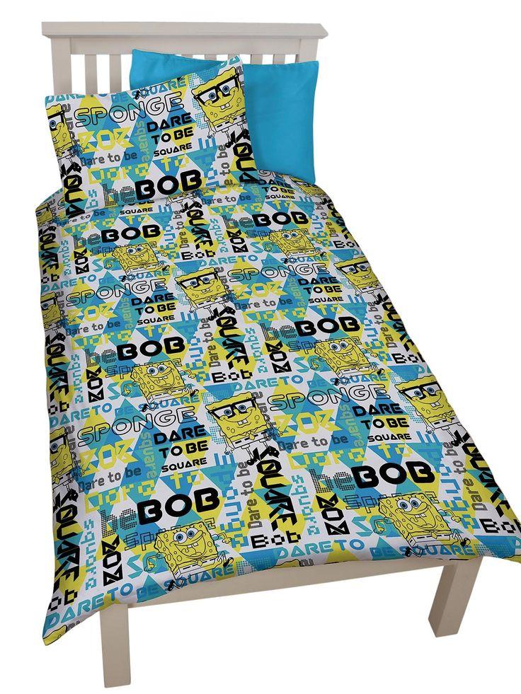 Spongebob Squarepants Duvet Cover Set Littlewoods 20
