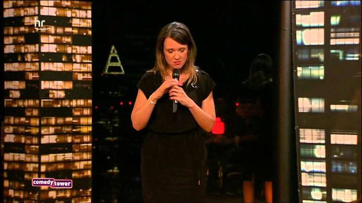 """Carolin Kebekus - Gastauftritt beim Hessischen Rundfunk (HR) im """"Comedy Tower"""" am 12.7.2013"""