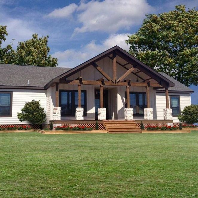 35+ Top Great Manufactured Home Porch Designs Choices – decoryourhomes.com