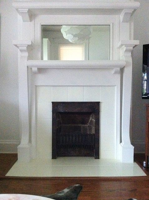 Painted Fireplace Tile FYI