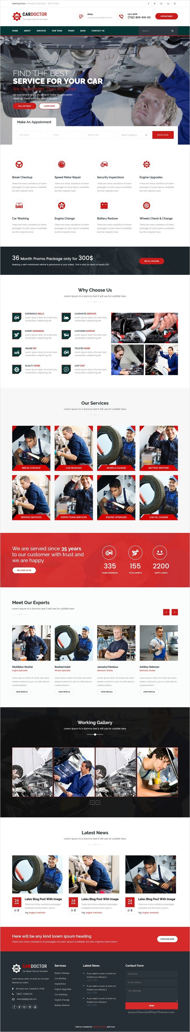 Car Doctor is beautifully design 2 in 1 #HTML Bootstrap template for #Car #Repair #service, Auto Mechanic, Garages & Workshops website download now➩ https://themeforest.net/item/car-doctor-auto-mechanic-car-repair-template/17374562?ref=Datasata