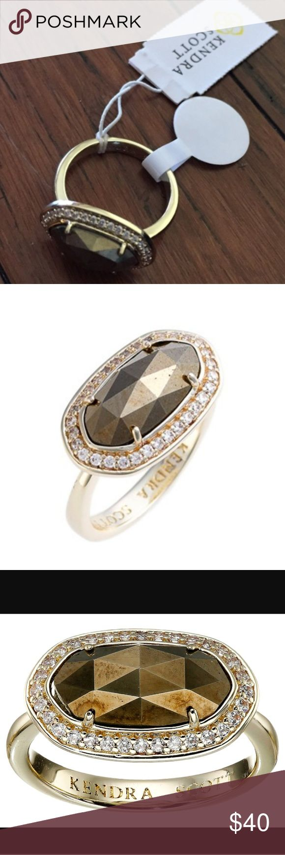 Beautiful Kendra Scott Emmaline Gold Ring Beautiful Kendra Scott Emmaline Gold Ring size 7 Kendra Scott Jewelry Rings