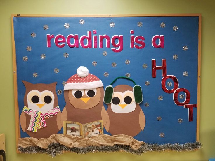 Image result for winter library bulletin board ideas