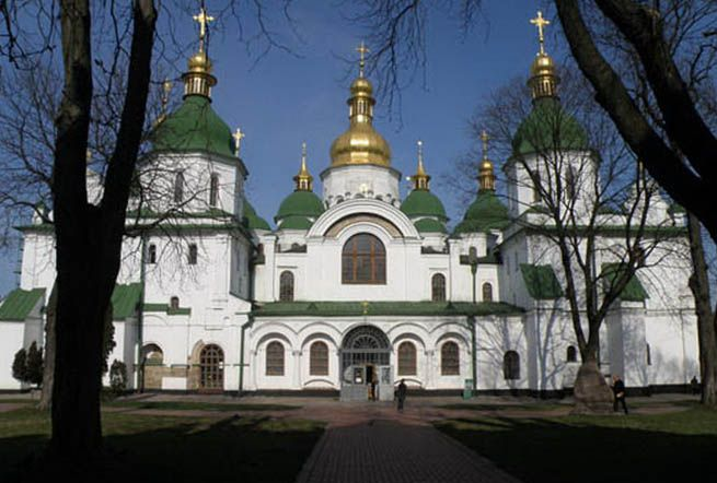 saint sophia cathedral kiev - Google Search