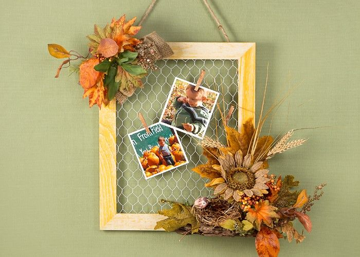 1344 best images about fall thanksgiving decorating on for Chicken wire craft ideas