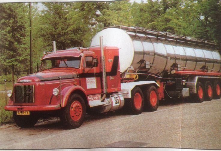 Volvo BJ-95-VK NB 88 bouwjaar 1986 nat./ int.tanktransport Marc Groteboer Rijssen Holland