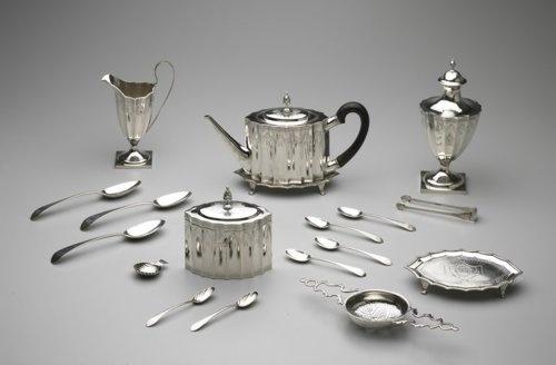 お茶サービスポール·リビア、1792年ミネアポリス美術研究所
